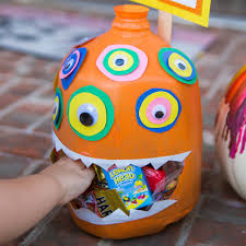 homemade halloween candy dispenser