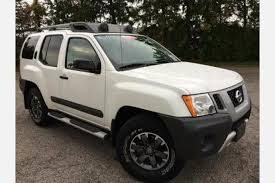 used white nissan xterra for sale edmunds