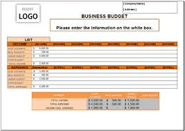 Excel 2007 Budget Template Free Business Budget Template For Excel 2007 2016