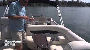 Aqua Patio Pontoon by Aqua Patio 250 Wb Product Walk Through Youtube