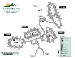 Colorado 14er Map by Lathrop State Park Outthere Colorado