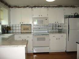 faux tin kitchen backsplash tin ceiling tiles as backsplash interior add beauty to any room in