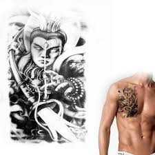 tattoo decal paper buy chinese myth erlang figure temporary tattoo stickers personalized