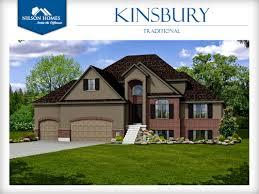 kingsbury floor plan rambler new home design nilson homes