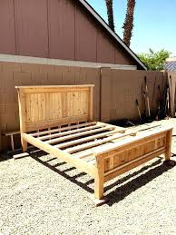 Wood Bed Platform Wood Bed Frames Happyhippy Co