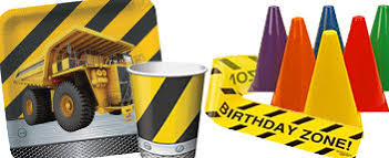 construction party supplies construction party ideas boys party ideas at birthday in a box