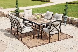 Patio Furniture Cushions At Walmart - transitional patio design with unique brown tan decorative area