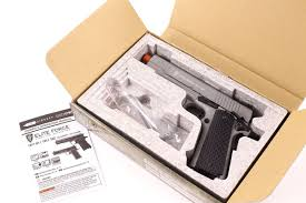 elite force 1911 tac gas gun metal grey co2 airsoft pistol