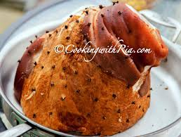 recipe for thanksgiving ham with pineapple ria u0027s simple