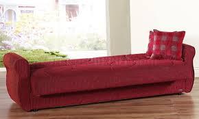fabric sleeper sofa fabric contemporary living room sleeper sofa w storage