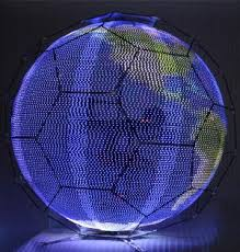 flying led spheres take advertising to the skies