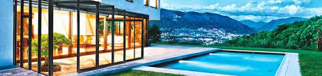 horeca enclosure system corso glass retractable patio enclosure
