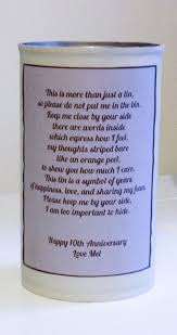 10th year wedding anniversary a diy 10th anniversary gift theoriginalthread