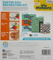 Minion Easter Egg Decorating Kit by Buy Minions Easter Egg Decorating Kit Online At Low Prices In