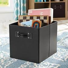 better homes and gardens 30 faux leather hinged storage ottoman