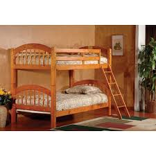 wood bunk bed design materials home interior decoration creative