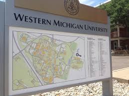 Western Michigan University Map by Printing Facilities Management Western Michigan University