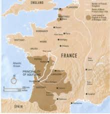 map of poitiers battle of poitiers army defeats the black prince