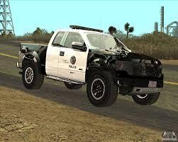 Ford Raptor Police Truck - ford raptor police para gta san andreas