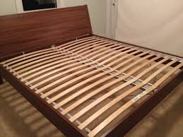 Ikea King Bed Frame Bedroom Updates Upgrading To A King Size Bed The Borrowed