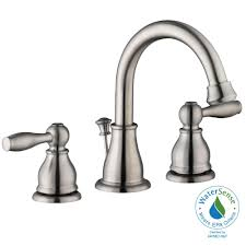 Glacier Bay Faucets Customer Service Glacier Bay Mandouri 8 In Widespread 2 Handle High Arc Bathroom