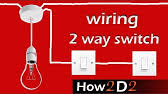 how to wire a 2 way light 2 way lighting explained youtube
