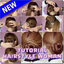 tutorial rambut wanita tutorial gaya rambut wanita apl android di google play