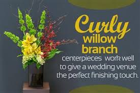Curly Willow Centerpieces Curly Willow Branch Centerpieces That U0027ll Enchant Your Guests