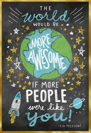 kid president more awesome kid u0027s birthday card greeting cards