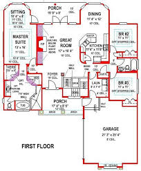 5 bedroom 3 bath southern house plan alp 099h allplans com