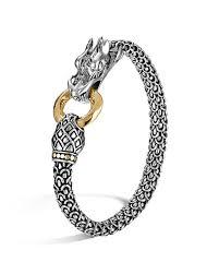 dragon bracelet gold images John hardy sterling silver 18k gold naga dragon bracelet tif