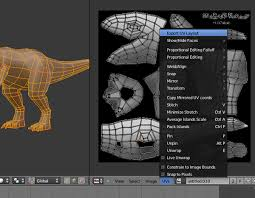 uv layout video tutorial modeling uvmapping and texturing a low poly t rex in blender part 2