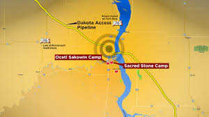Standing Rock Reservation Map Police Protesters Clash At Cantapeta Creek As Obama Wades Into