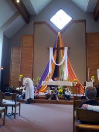 Easter Decorations At Church by Easter Decoration Of Cross Southwest Minnesota Synod Elca