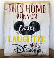 handmade disney wall art sign for your home the main street mouse