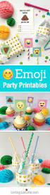 wrap party invitations emoji party ideas and colorful printables