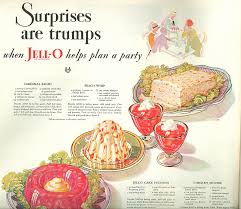 food we used to make with jell o during the holidays