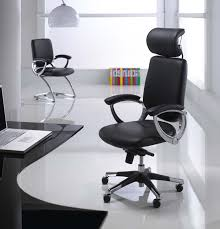 Leather Office Chair Front Captivating Office Room With L Shape Desk Also Three Contemporary