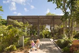Naples Florida Botanical Garden Naples Botanical Garden Visitor Center Lake Flato Architects