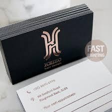 foil business cards lilbibby