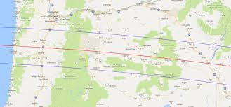 map of oregon 2 eclipse update t minus 2 months