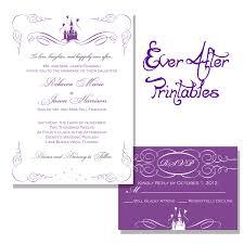 Fairytale Wedding Invitations Disney Fairytale Wedding Invitations Casadebormela Com