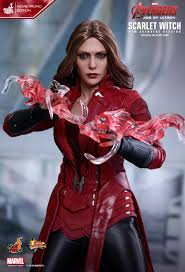 toys 1 6 marvel avengers mms357 scarlet witch movie promo