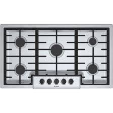 Bosch Induction Cooktop Review Bosch 36 Inch Gas Cooktop Ngm5655uc 500 Stainless Steel With 5