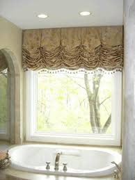 Bathroom Tier Curtains Bathroom Curtains Gela Double Vanity With Carrara Marble Top Gray