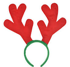 christmas headbands christmas hats reindeer antlers christmas headbands party city