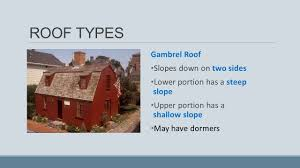 building a gambrel roof roof types applications of technology the roof of a building is