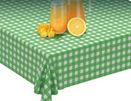 green table cover roll 100 x 52 green gingham tablecloth roll self cutter disposable
