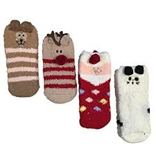 fuzzy christmas socks my baby coral fleece warm fuzzy room sock sleep