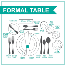Casual Table Setting How To Set The Table